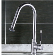 (A0039-B) Single level 35mm ceramic cartridge brass body high quality Pull out Kitchen Sink Faucet Mixer