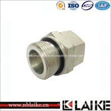 Bsp Male / Metric Female Tube Fitting Hydraulic Adapter (2GD)