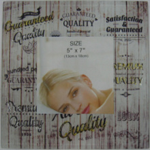 Wholesale Glass Photo Frame Sample Free