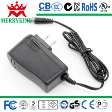 12W AC/DC Adapters with 24V500mA Switching Power Supply, UL/FCC/PSE/CE/TUV/SAA/CCC Mark