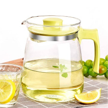 Glass Drinkingware 4PCS Set with 1jug and 6cups Glass Pitcher Set