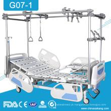 Preço ortopédico médico dos produtos das camas da tração da reabilitação G07-1