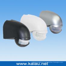 Capteur de mouvement infrarouge à montage mural imperméable à 180 degrés (KA-S72)