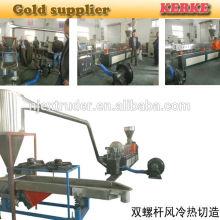 PP EVA con la máquina del extrusor del plástico del carbonato de calcio para el llenador