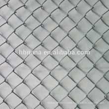 electro galvanized chainlink fencing mesh / price for chain link mesh