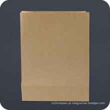 Saco de papel promocional para mercearia