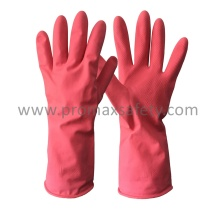 Pink Household Latex Glove with Ce Approved
