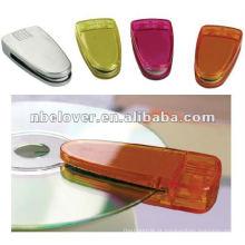 Plástico CD mini clearner para promoção / cd escova / limpador de laptop