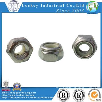 Acier inoxydable en acier inoxydable 304 Hex Nylon
