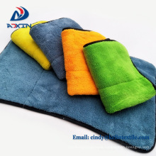 Ultra thick 480gsm microfiber coral velvet kitchen towel for dish drying