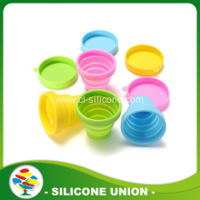 Silicone folding cup,silicone collapsible water cup