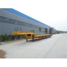 Transportador semi-reboque baixo 3 pontes