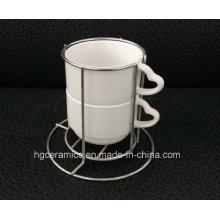 Taza Strackable, taza de la sublimación 2PCS / Se