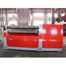 W12s-20X4000 Máquina de dobra e laminação de chapas de aço de 4 rolos
