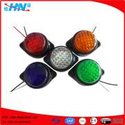 Base plástica 6 luces de señal LED lateral para camión Trailer