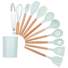 custom food grade silicone injection molding service kitchen tool set utensils making