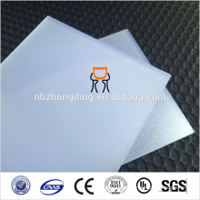 Zhongding Plastic PC Polycarbonate Diffused Sheet
