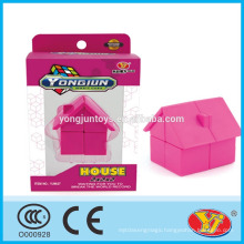 2016 new product YJ YongJun house Magic Puzzle Cube Educational Toys English Packing for Promotion