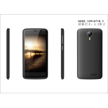 4.5inch Fwvga 854 * 480 IPS, Mtk 6572 1.0g CPU, Android 4.4, double carte SIM, Smartphone WiFi