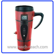 Plastic Electric Car Mug Auto Mug with Electric Plug (R-E008)