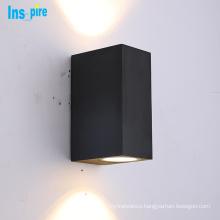 European style solar outdoor waterproof led wall lamp