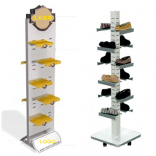 Promotional Acrylic Shoes Display Trays for Speciality Stores