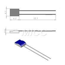 Elementos Platinum RTD / PT100 Elements 4.1x4.2mm / rtd