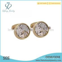 Mancuerna de acero blanco superior de la venta, joyería de cobre, sistema de la mancuerna