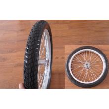 Roues du fauteuil roulant 18 X 2.125, parlait de pneu de mousse d'unité centrale avec jante
