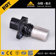 Датчик давления Комацу 6560-61-7400 для SA6d170-3