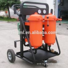 Fabricante de 4 ruedas que dispensan el carro de acero del tambor de aceite del filtro porable hecho en China, carro de filtro de aceite eléctrico de alta eficiencia