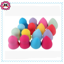 Hydrophilic Non Latex Makeup Powder Puff Beauty Product Free Sample /Latex Free Makeup Sponge