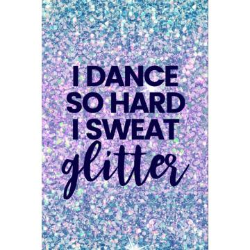 BLUE GLITTER NOTEBOOK -0