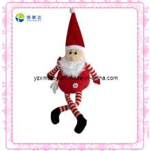 Engraçado Papai Noel Natal brinquedo Plush
