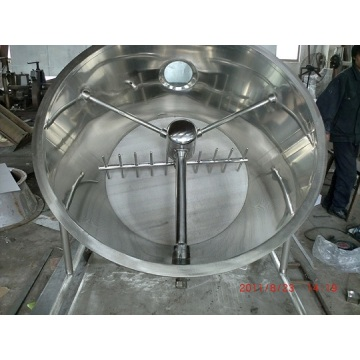 Fluidized/Fluidizing bed dryer for xylitol
