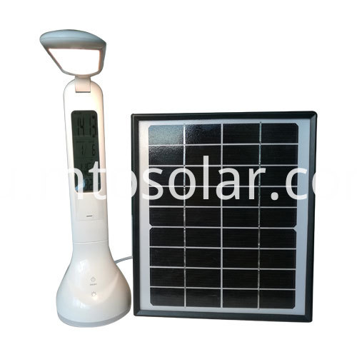 1000mah lithium solar table lamp