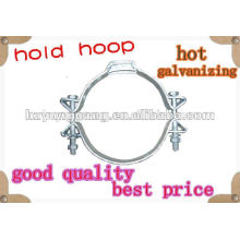 HOT-DIP GALVANIZED HOLD HOOP,BEAM CLAMP ANCHOR hold hoop HOOP FASTENER