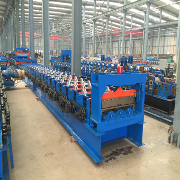 Decking Roll Forming Machine mạ kẽm