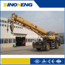 Grue de terrain rugueuse de 50 tonnes, grue mobile Qry50