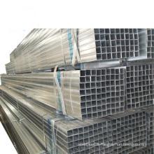 Q195-Q235 grade pre galvanized square rectangular tube 1.5 inch gi steel pipe