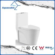 One Piece Dual Flush Ceramic Toilet in White (ACT7911)