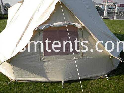 Unique Glamping Bell tent