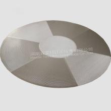 Disco sinterizado de aço inoxidável do filtro de rede de arame 316L