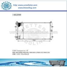 Radiador de aluminio para VOLKSWAGEN Transporter 97 86010006/8601001/86010014/8601355/8601356