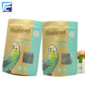 foil kraft paper Bird food bag with window