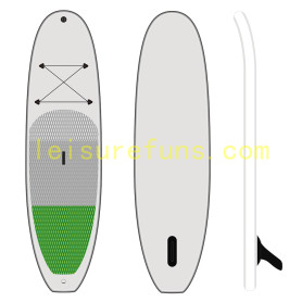 inflatable paddleboard for river or lake