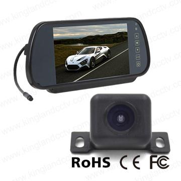 Système de sauvegarde caméra moniteur miroir de 7 pouces avec caméra mini voiture
