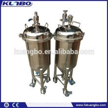 Réservoir de fermentation de bière pour le réservoir de stockage de bière d'équipement de brassage