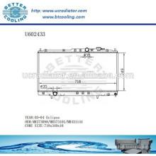 Radiador para TOYOTA ECLIPSE 03-04 de aluminio MR373098 / MR373101 / MR431144 Fabricante y venta directa