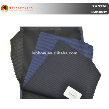 Italienische Angelico feine Qualität Kammgarn Wolle Marine Pin Stripe Anzug Stoff für Schneider